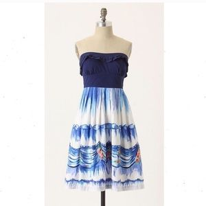 Anthropologie Nathalie Lete First Dance Dress